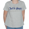 T-shirt-grande-taille-fille- -Be-Happy