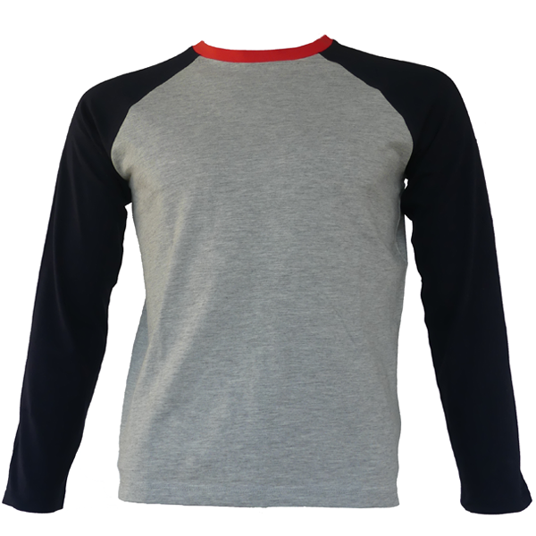 t-shirt grande taille adolescent manches longues